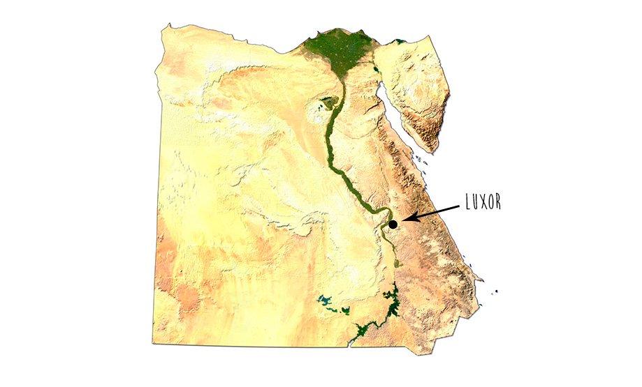 Mapa de Egipto | Rojo Cangrejo Blog de Viajes