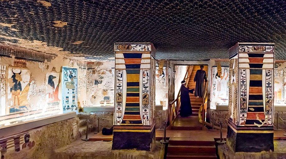 Tumba de Nefertari en Luxor | Rojo Cangrejo Blog de Viajes