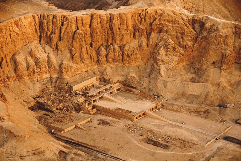 Templo funerario de Hatshepsut | Rojo Cangrejo Blog de Viajes