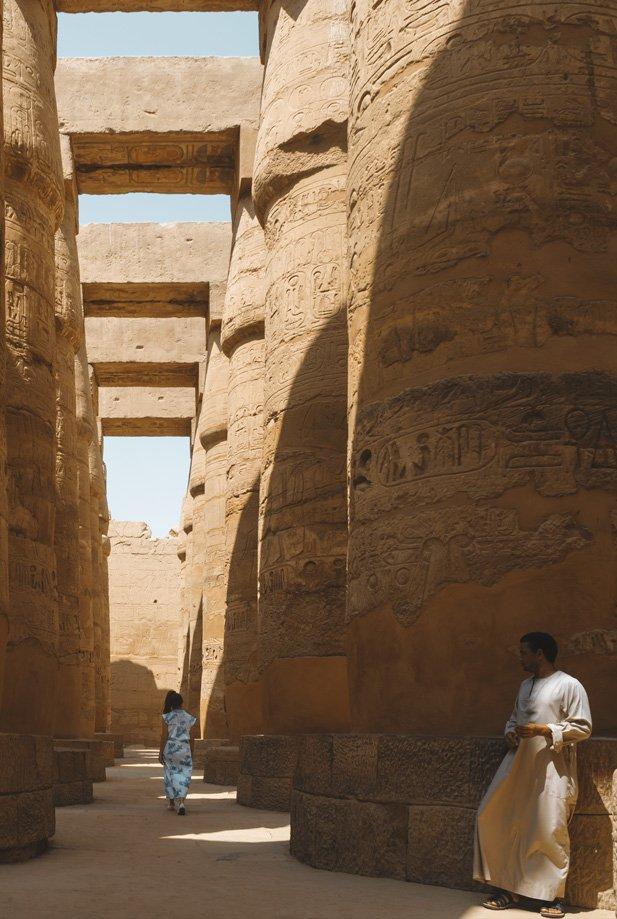Entrada a Karnak | Rojo Cangrejo Blog de Viajes