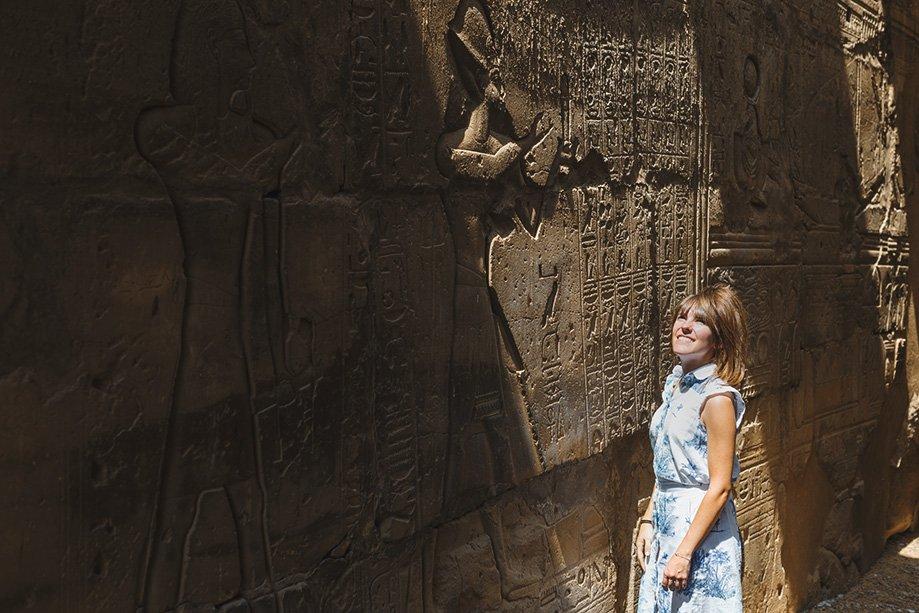 Templo de Ramsés en Luxor | Rojo Cangrejo Blog de Viajes