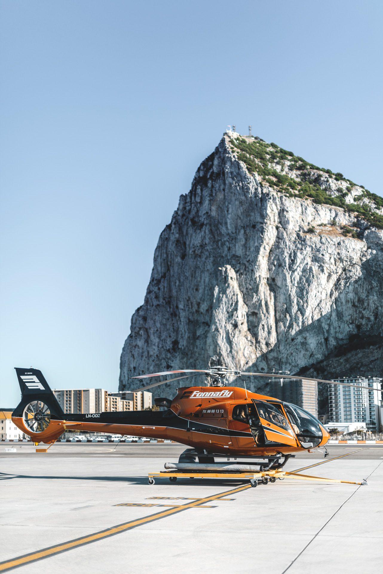 Vuelos en helicóptero Gibraltar | Rojo Cangrejo Blog de Viajes