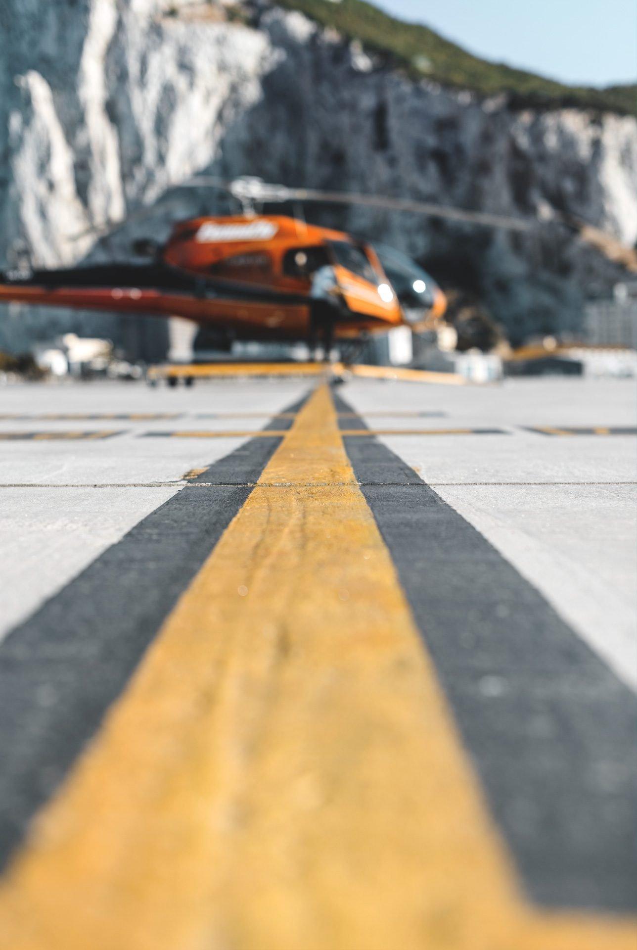 Gibraltar desde un helicóptero | Rojo Cangrejo Blog de Viajes