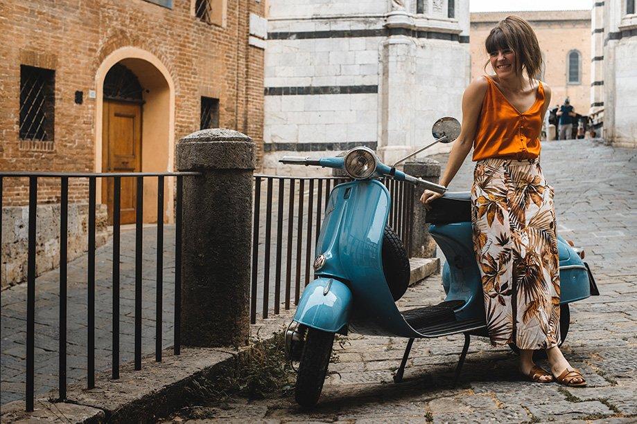 ruta en Vespa por La Toscana | Rojo Cangrejo Blog de Viajes