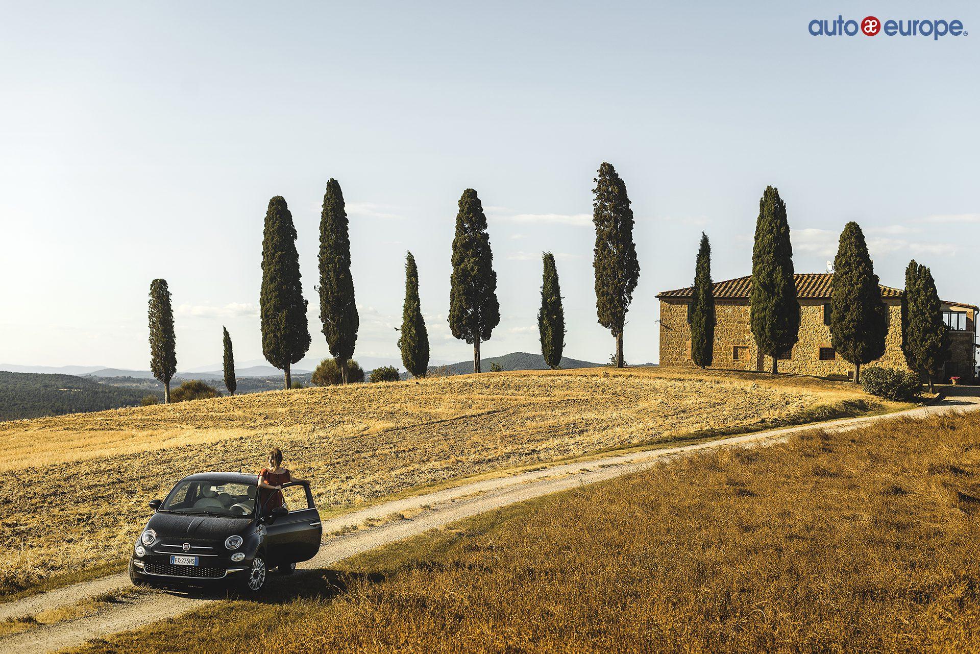 ruta toscana italiana en coche