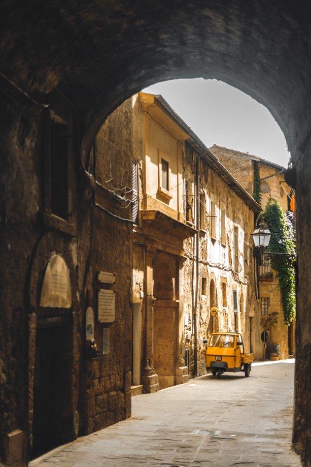 pueblos de La Toscana cerca de Siena