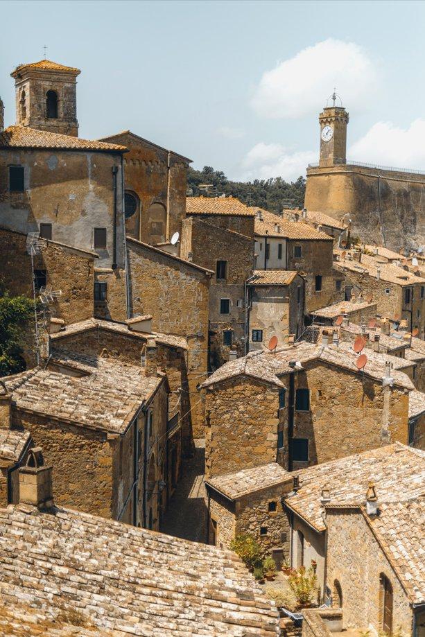 pueblos cercanos a Toscana