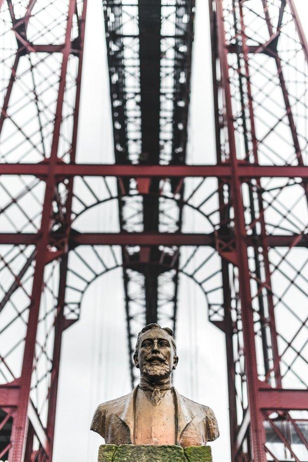 puente colgante Portugalete patrimonio de la humanidad