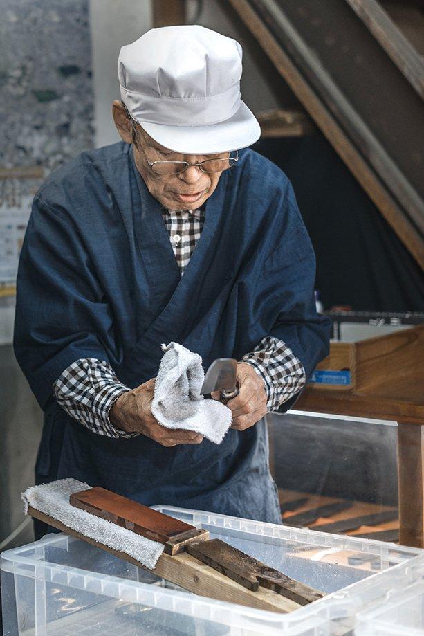 cuchillos japoneses de un solo filo