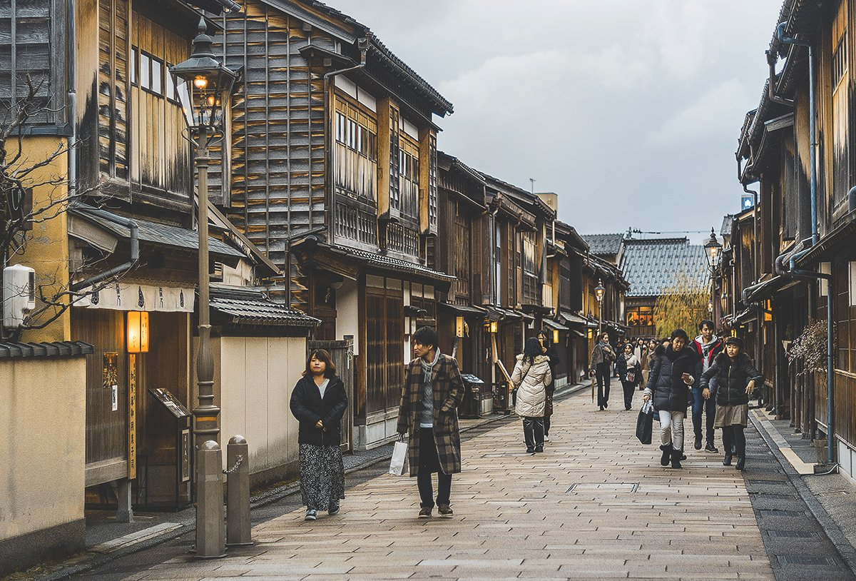 Cómo llegar a Kanazawa   rojocangrejo.com