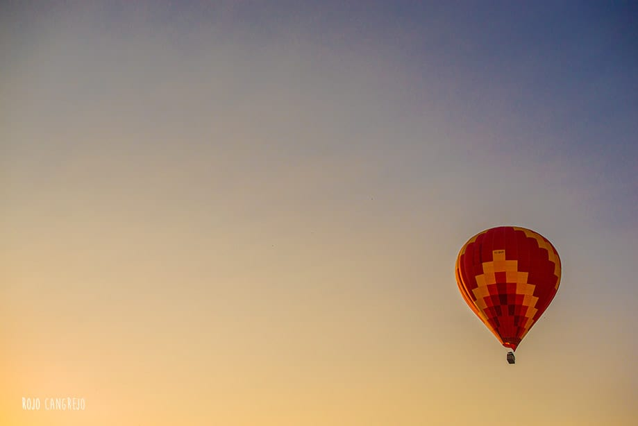 viaje en globo capadocia