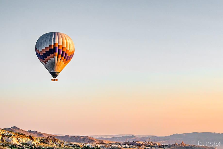 vuelo en globo en capadocia